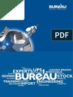 Bureau Baterias Catalogo 2012