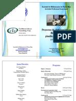 Sbpr Programa Actividad Semianual 2014 Sept 26