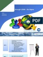 Lean SIx Sigma Day 1