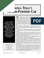 1931 Tesla Electric Car