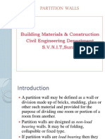1.Partition Wall
