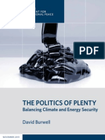 The Politics of Plenty
