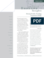 Executive Insights - Acq Pitfalls