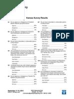 PPP Poll in Kansas