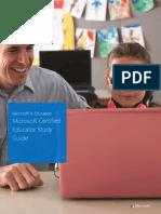 Microsoft Certified Educator Study Guide
