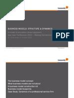 Oliver Grasl-Business Model Dynamics