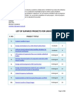 Batch i Listofprojectsforuniversities
