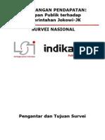 Rilis Survei Ketimpangan Pendapatan LSI INDIKATOR
