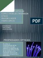 PROPIEDADES OPTICAS