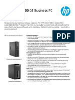 HP ProDesk 400 G1 Business PC