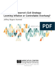 The Federal Reserve's Exit Strategy