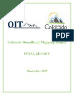 Colorado Broadband Mapping Project