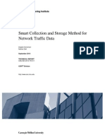 Smart Collection and Storage Method for Network Traffic Data