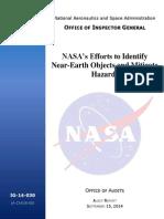 NASA OIG Informe Final