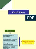 Causal Designs