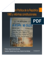 ARAYA VARAS. Constituci n Pol Tica de La Rep Blica 1980 y Reformas