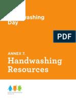 Handwashing Resources