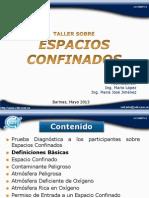 Plantilla de Presentacion de Ceit 2 Espacios Confinados