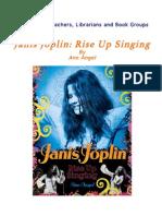 Readers Guide for Janis Joplin Rise Up Singing