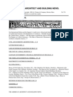 The American Architect and Building News, Vol. 27, No. 733, January 11, 1890 by Various