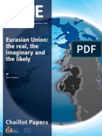 Eurasian Union- The Real, The Imaginary and the Likely