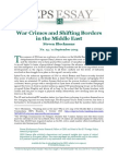 War Crimes and Shifting Borders in the Middle East