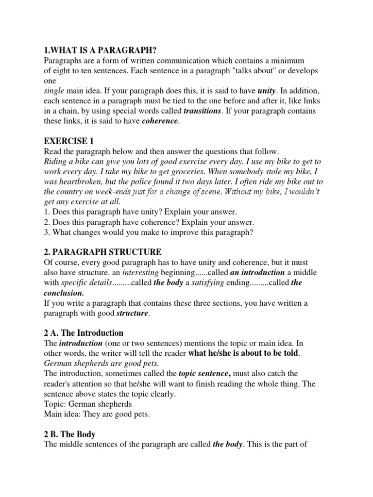 Coherence in writing pdf free