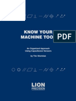 Know Your Machine Tool