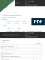 Analyse Audit SiteWeb Blog Ecommerce