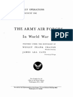 USAAF in WW2 1 Plans and Early Operations Aaf in World War 2 Vol 1