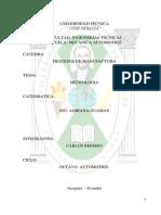 Universidad Tecnica Jose Peralta Calibrador