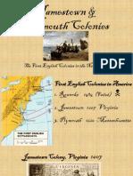 jamestown  plymouth colonies