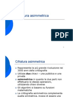 Cifratura Asimmetrica