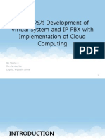 Development of Virtual System and IP PBX With
