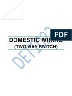 DET 1022 WIRING TWO WAY SWITCH