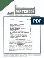 Watchdog May 1989