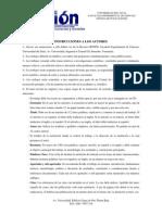 Instrucciones a Los Autores Revista Opcion p