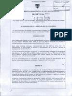 Decreto 4485 de 2009