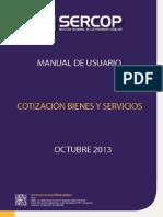 Cotización Bienes y Servicios