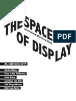 Program TheSpaceofDisplay