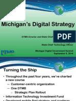 GT - Michigan DGS 2014 Presentation - Michigans Strategy for Reinvention D Behen