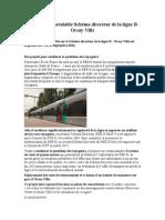 Concertation Prélable Schéma Directeur de La Ligne B Orsay Ville 15 Septembre 2014