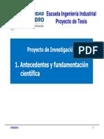 Antecedentes y Fundamentacion Cientifica