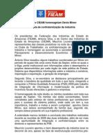 11 12 09 Confraternização da indústria amazonense