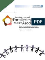 Estrategia Fortalecimiento de Grupos Asociativos