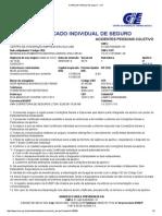 Certificado Individual de Seguro - CIS