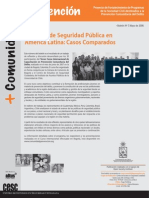 Boletin 7 Sistemas de Seguirdad Publica en America Latina