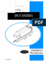 Carrier Transicold Transport Air Conditioning Installation Procedures SPLIT-SYSTEMS