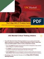 5 Step USC-CT Problem Solving Process