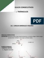 ÁNGULOS CONSECUTIVOS - TRIÀNGULOS